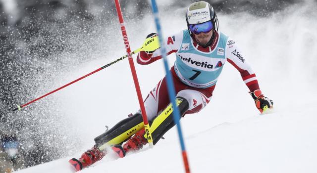 Sci alpino, Manuel Feller vince lo slalom di Lenzerheide, ottimo quarto Alex Vinatzer!