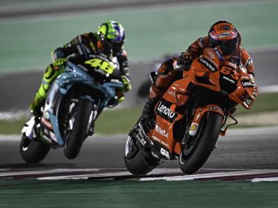 MotoGP, classifica combinata prove libere GP Portogallo: Bagnaia al comando, fatica Valentino Rossi