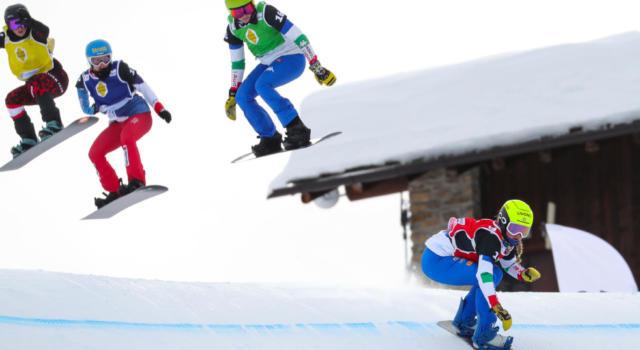 LIVE Snowboardcross Bakuriani in DIRETTA: TRIONFA VISINTIN! Quarti Moioli e Sommariva