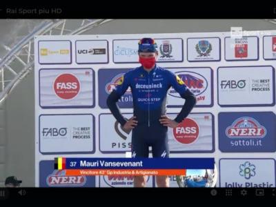 GP Industria & Artigianato 2021: Mauri Vansevenant trionfa a Larciano. Decimo Nibali