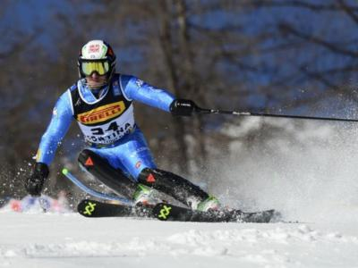 Sci alpino, Stefano Gross vince i Campionati italiani in slalom. 2° Tonetti, Vinatzer sul podio