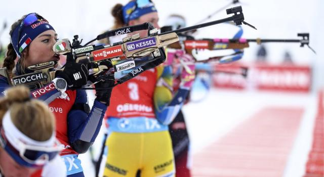 Biathlon oggi: orari, tv, programma, streaming, pettorali Inseguimenti Nove Mesto