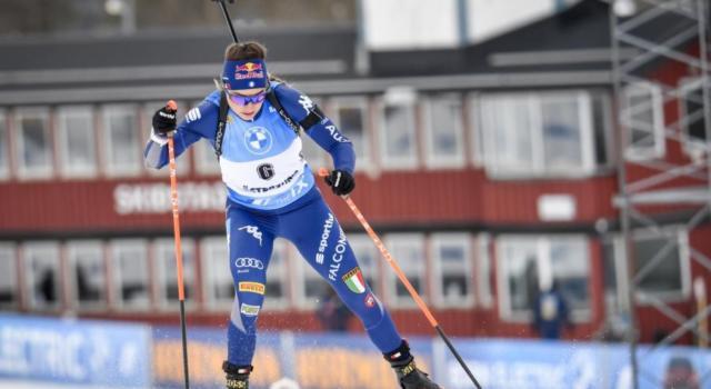 Biathlon, Dorothea Wierer beffata per soli 2″5 da Eckhoff nella sprint di Oestersund