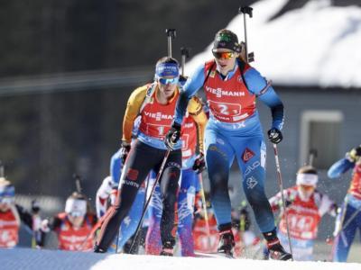 Biathlon, grande Italia nei Mondiali Youth 2021 a Obertilliach: Martina TrabucchieLinda Zingerle argento e bronzo nell'inseguimento