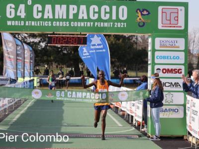 """Campaccio 2021, risultati e classifica: Kiplimo e Gemechu in trionfo, Eyob Faniel 4° nel """"cross della Befana"""""""