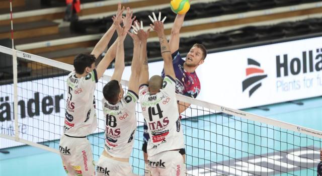 Volley, Playoff SuperLega: Trento-Civitanova, battaglia campale. I dolomitici per l'allungo in semifinale