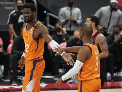 NBA 2020-2021, i risultati della notte (31 marzo): i Suns fermano il Gallo, pesanti ko per Clippers e 76ers