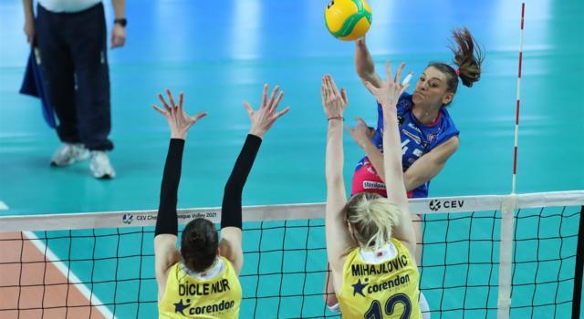 Volley femminile, Champions League 2021: Novara liquida il Fenerbahce e vola in semifinale! Sarà derby italiano