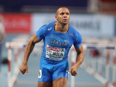 Atletica, Europei Indoor: Dal Molin, Koua e Bogliolo in finale sui 60 ostacoli. Tamberi argento, Bocchi 4°
