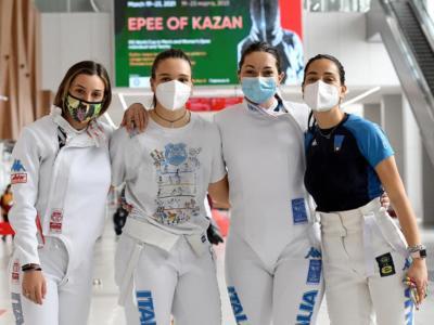 Scherma, Coppa del Mondo 2021: spadiste azzurre quinte a Kazan. Vince la Polonia