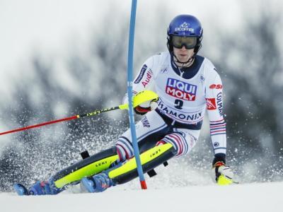 Sci alpino, Clement Noel guida lo slalom di Kranjska Gora. Decimo Vinatzer