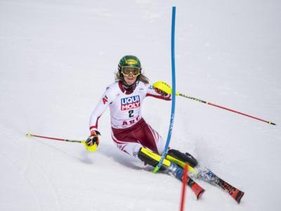 Sci alpino, Liensberger vince lo slalom di Are e sblocca l'Austria. Shiffrin seconda, Vlhova ottava in rimonta