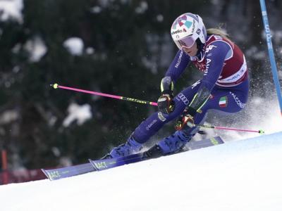 Sci alpino, Marta Bassino ad un passo dalla Coppa di gigante. Shiffrin in testa a metà gara a Jasna