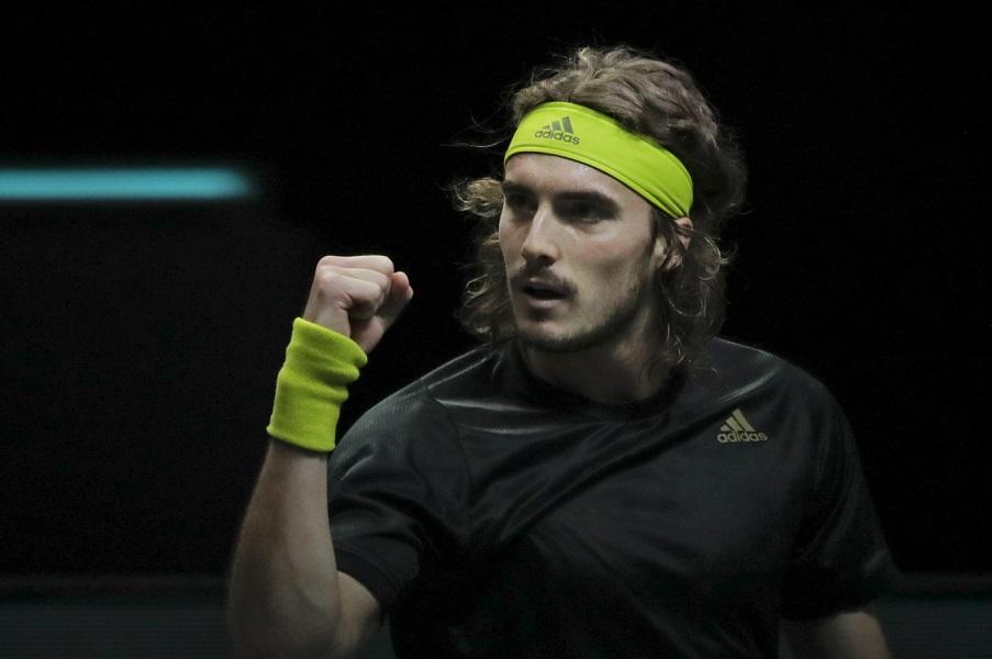 Tennis, ATP Rotterdam 2021: Tsitsipas e Rublev soffrono, ma accedono alla semifinali