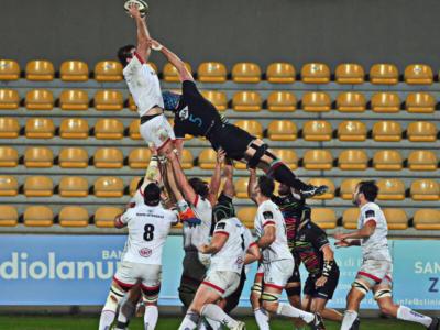 Rugby, Pro 14: Zebre, rosso fiscale a Manfredi e ko a Belfast