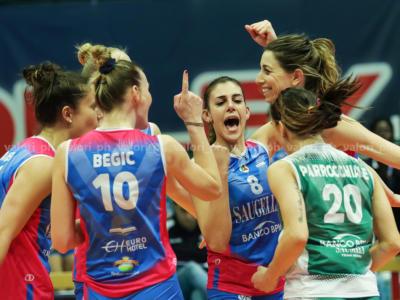 Volley femminile, Playoff Serie A1: Monza parte bene, stesa Chieri in gara-1 dei quarti di finale