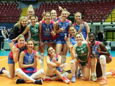 Volley femminile, Monza vince la CEV Cup! Trionfo brianzolo in Europa, la Saugella abbatte il Galatasaray