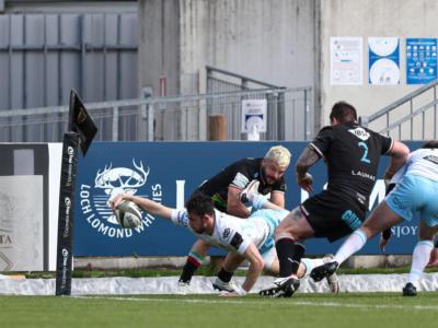 Rugby, Pro 14: le Zebre cedono alla distanza contro Glasgow