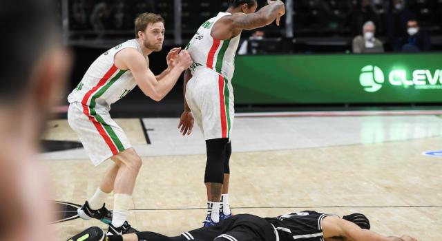 Basket: Virtus Bologna, è la notte più amara. Unics Kazan in finale di EuroCup e in Eurolega 2021-2022