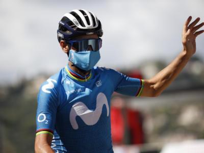 """Liegi-Bastogne-Liegi 2021, Alejandro Valverde: """"Mi hanno lasciato il peso della volata, ma sono contento lo stesso"""""""