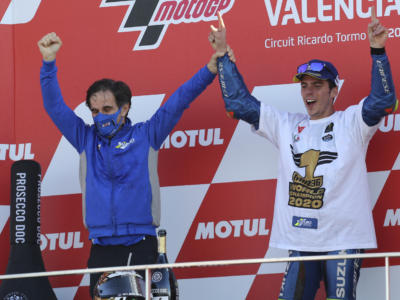 """MotoGP, Davide Brivio: """"Parlare con Mir o Rins e farlo con Fernando non è molto diverso"""""""