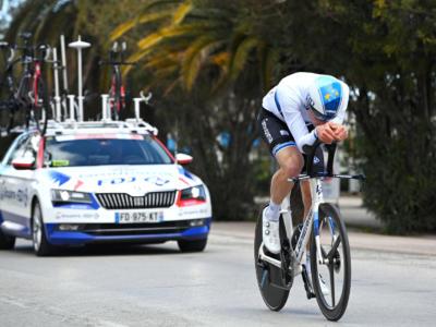 Volta a la Comunitat Valenciana 2021, Stefan Küng domina la cronometro e indossa la maglia di leader