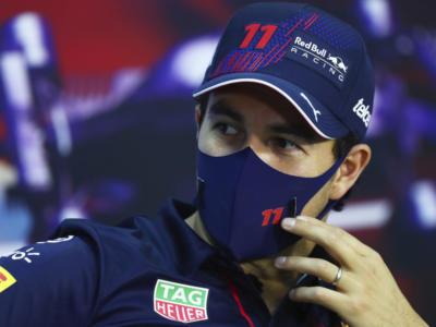 """F1, Sergio Perez: """"Il passo gara della Red Bull è buono. L'incidente con Ocon? Un problema di comunicazione"""""""