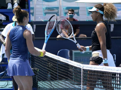 WTA Miami 2021, i risultati del 31 marzo. La seconda semifinale sarà tra Maria Sakkari e Bianca Andreescu