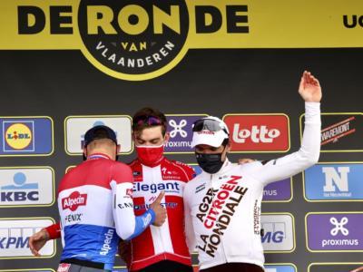 Giro delle Fiandre 2021, le Pagelle: Asgreen da 10 e lode. Van der Poel non riesce a ripetere la volata del 2020
