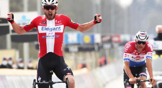 VIDEO Michael Schaer squalificato per lancio di boraccia! Asgreen e van der Poel non puniti al Giro delle Fiandre. Il motivo
