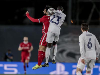 Champions League calcio, Real Madrid-Liverpool 3-1 nell'andata dei quarti. Manchester City-Dortmund 2-1