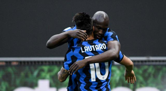VIDEO Inter-Sassuolo 2-1, Highlights, gol e sintesi: Lukaku e Lautaro avvicinano lo scudetto