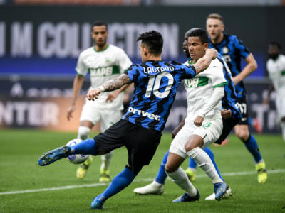 Serie A calcio, Inter e Juventus vincono i recuperi. Nerazzurri lanciati verso lo scudetto, +12 sui bianconeri
