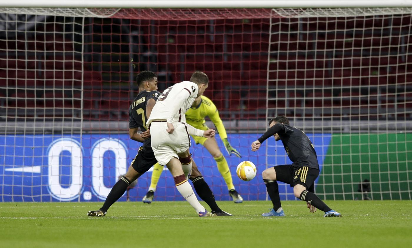 Calcio    la Roma vince per 1-2 in casa dell'Ajax nell'andata dei quarti di Europa League 2021