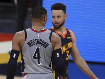 NBA 2021, i risultati della notte (11 aprile): Lakers battono Nets. Steph Curry, Gary Trent Jr, Donovan Mitchell, Enes Kanter danno spettacolo