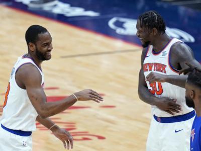 NBA 2021, i risultati della notte (17 aprile): Randle fa 44, volano i Knicks. Ai 76ers il big match, brividi Blazers e Wizards