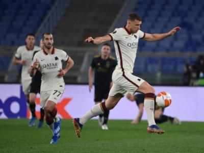 Calcio, la Roma pareggia 1-1 con l'Ajax e vola in semifinale di Europa League! Decisiva la vittoria dell'andata in Olanda