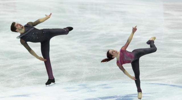 Pattinaggio artistico: Della Monica-Guarise quarti nel libero al World Team Trophy 2021, Mishina-Galliamov dominano
