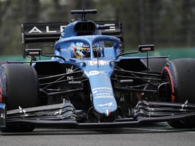 F1, Fernando Alonso perde nettamente il confronto con Ocon in qualifica a Imola