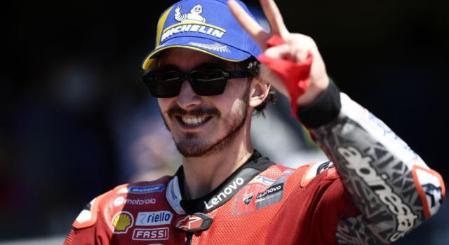 """MotoGP, Francesco Bagnaia: """"Contento perché sono in testa al Mondiale su una pista difficile per la Ducati"""""""