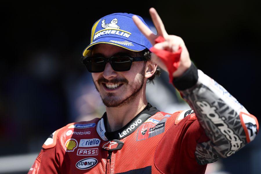 """MotoGP, Francesco Bagnaia: """"Impossibile scaldare le gomme con 8°. Feeling ottimo sul bagnato"""""""
