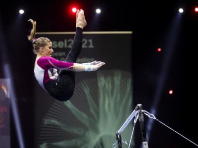 """FOTO Europei ginnastica, Germania in gara con la """"tuta"""". Seitz e Bui col body a tutta gamba. I motivi di una scelta rivoluzionaria"""