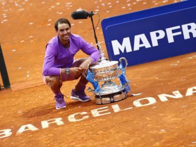 Tennis, Ranking ATP (26 aprile): Rafael Nadal si riprende il numero 2, Novak Djokovic leader. Berrettini 10°, salgono Sinner e Musetti