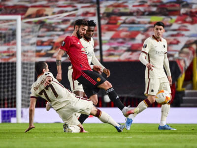 VIDEO Europa League 2021: highlights, sintesi e gol di Machester United-Roma 6-2
