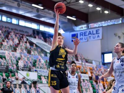 Basket femminile: nei playout di Serie A1 2021 Lucca avanti sulla versione rimaneggiata di Battipaglia