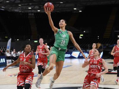 Basket femminile: Harrison è magistrale, Ragusa espugna Empoli in gara-1 dei quarti di finale playoff 2021