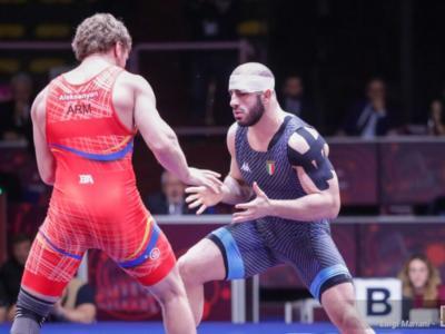 Lotta, Europei 2021: assegnati i primi titoli della greco-romana. Kakhelashvili in finale per il bronzo