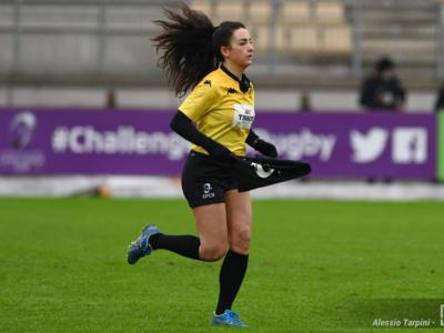 Rugby, TOP10 2021: Clara Munarini arbitrerà Viadana-Colorno