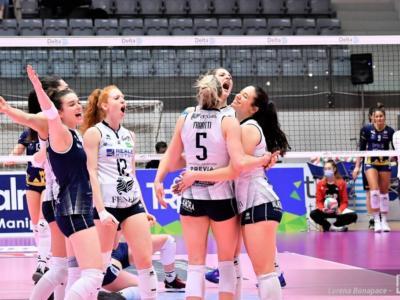Volley femminile, Playoff Serie A1: Chieri batte al tie-break Monza e porta la serie in parità