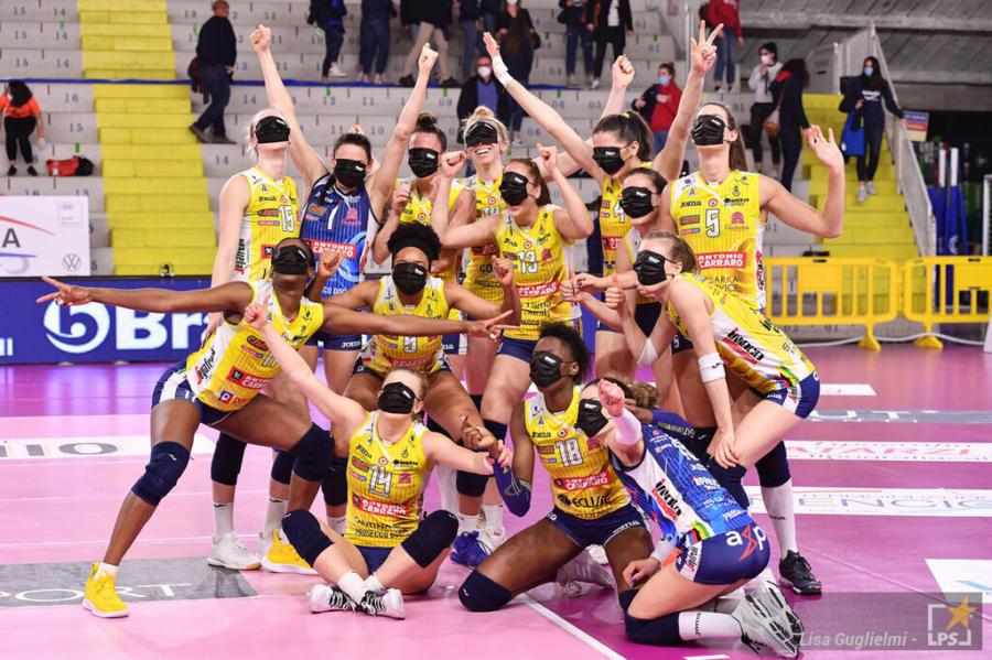 Volley femminile, Conegliano Campione d'Italia! Quarto scudetto, Novara cede in gara 2. Egonu 35 punti